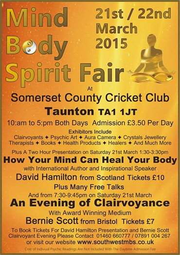 South West MBS Mind Body Spirit Fair