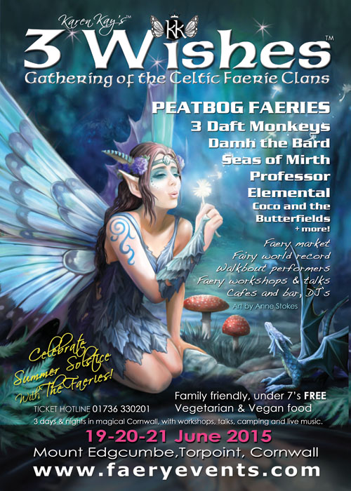3 Wishes Fairy Festival – Cornwall 2015