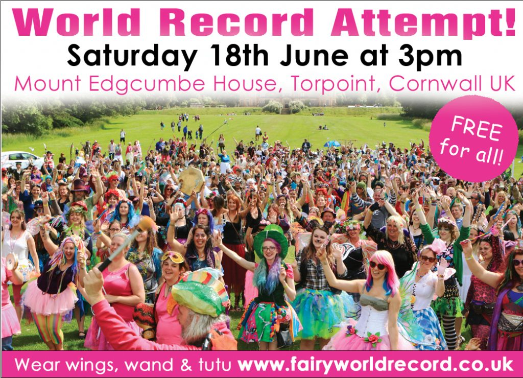 Fairy World Record Attempt in Cornwall!
